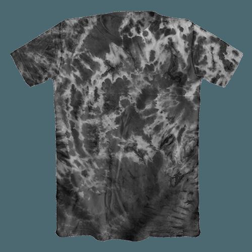 Camiseta Tie Dye Psicodélica Preta