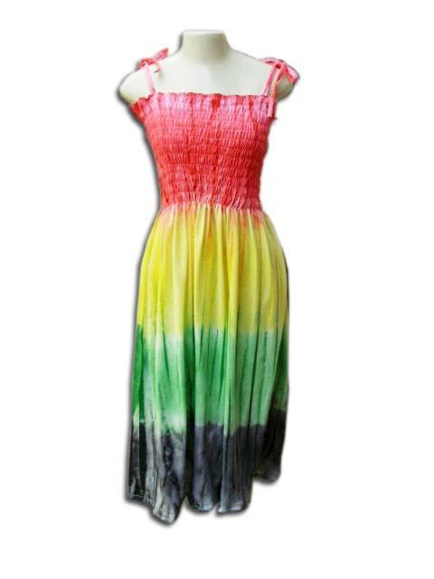 Vestido Lastec Tie-Dye Psicodélico 002