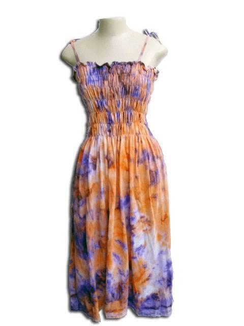Vestido Lastec Tie-Dye Psicodélico 013