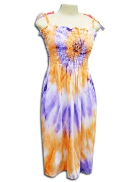 Vestido Lastec Tie-Dye Psicodélico 017