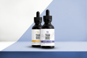 Tranquil Earth CBD tinctures in 2 flavors
