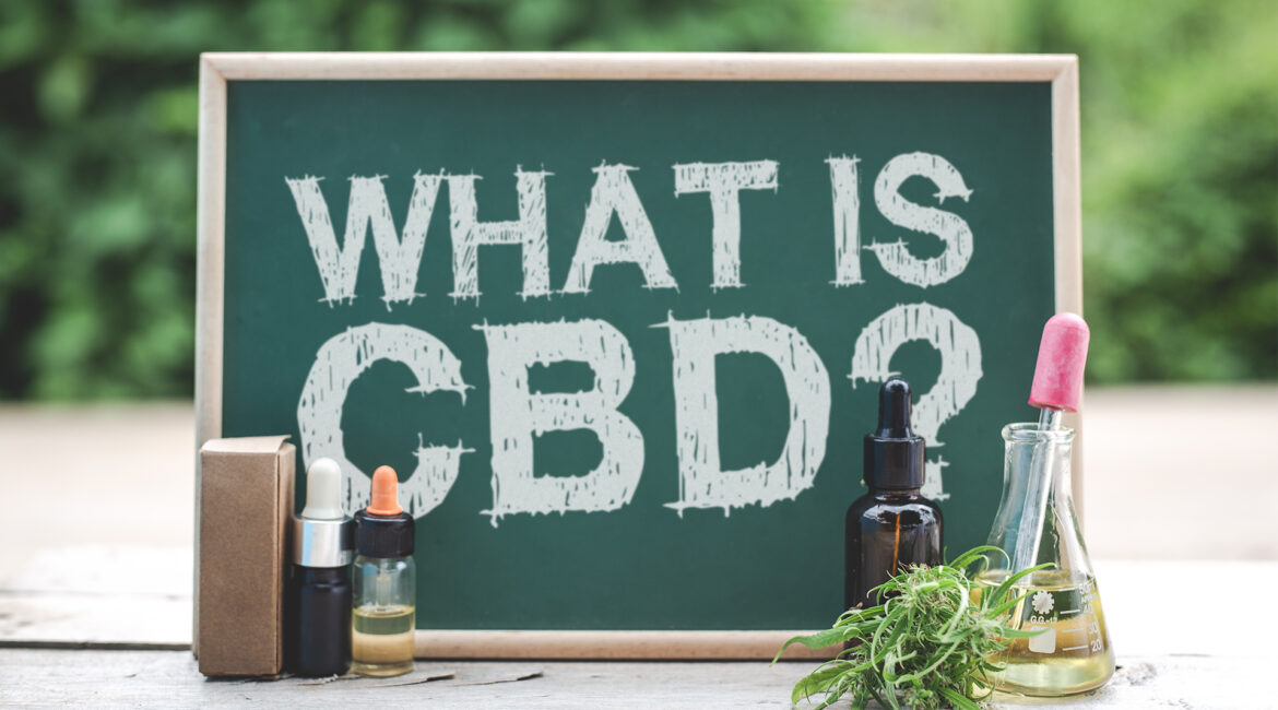 """chalkboard that says """"What is CBD?"""""""