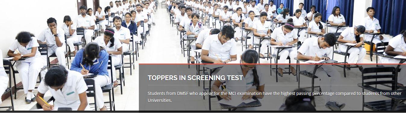 Medical Screening Test
