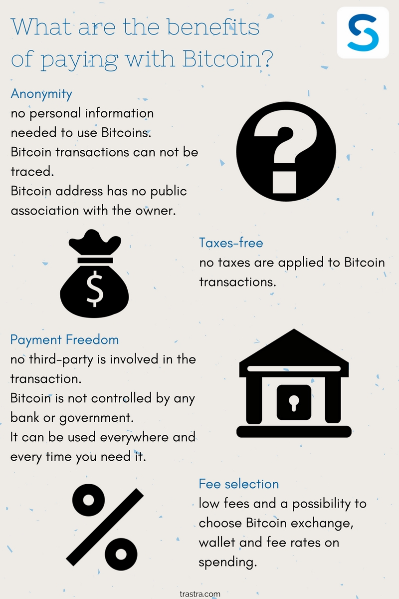 TRASTRA Blog | What are the advantages of paying with Bitcoin?