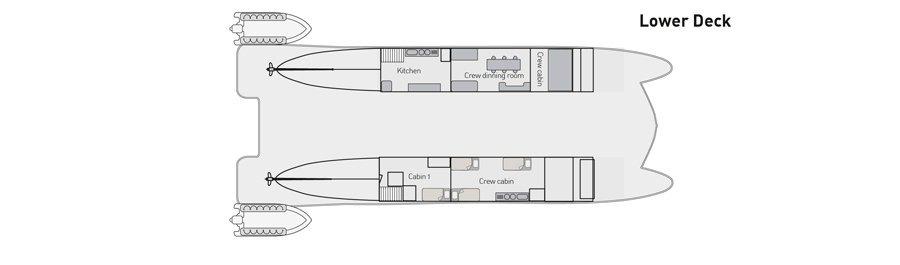 Lower deck   Eco Galaxy