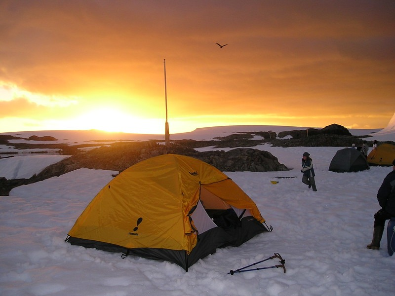 Ice Camping