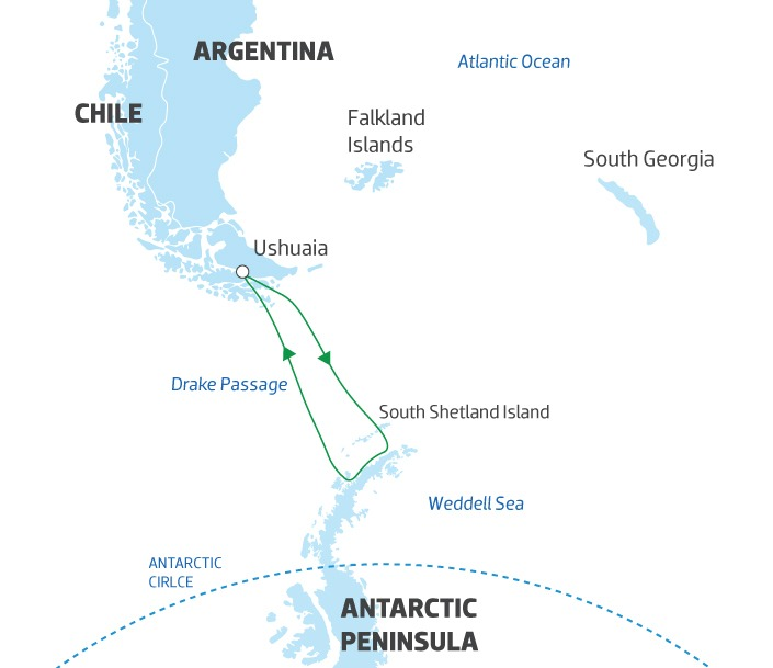 [object Object]   Antarctica Map