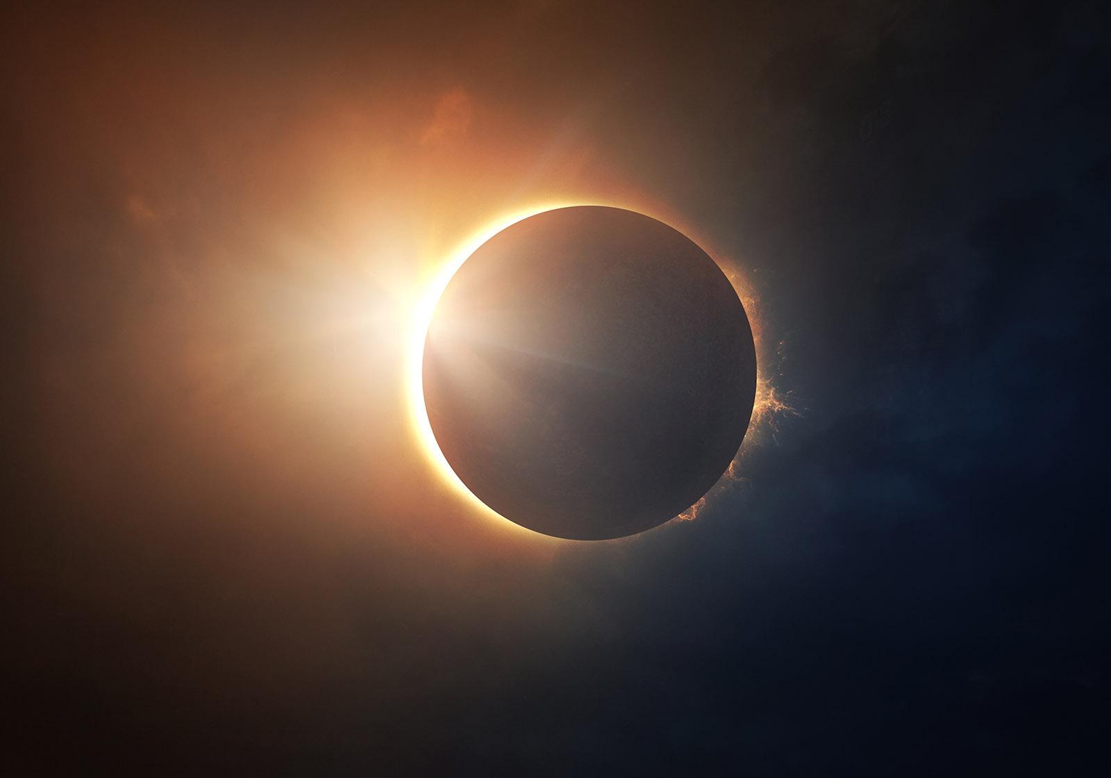 Antarctic Solar eclipse