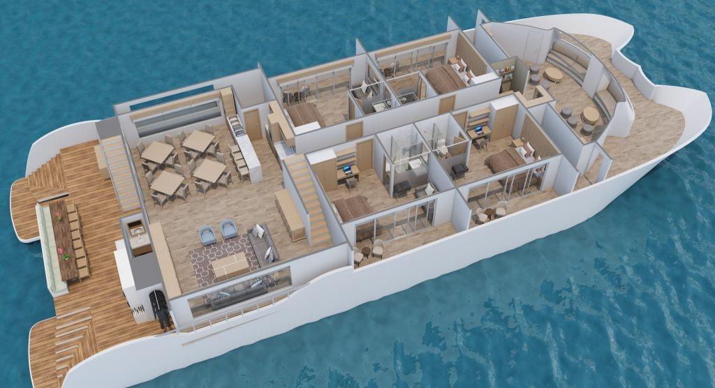Main deck | M/C Endemic