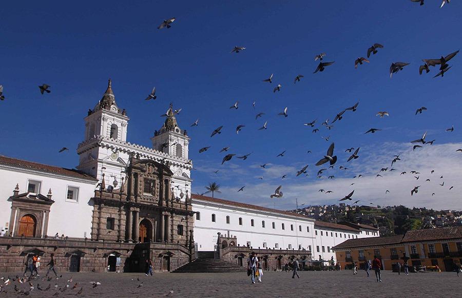 Downtown San Francisco Church | Ecuador