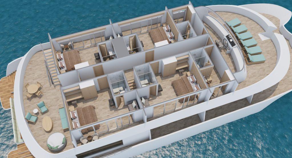 Upper deck | M/C Endemic