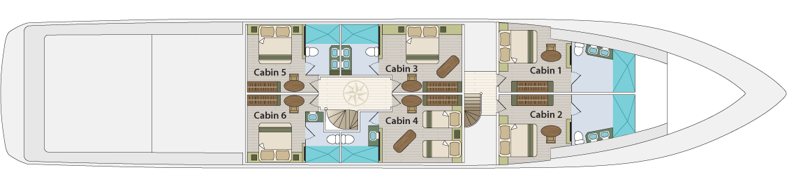 Lowe deck   M/Y Grand Majestic