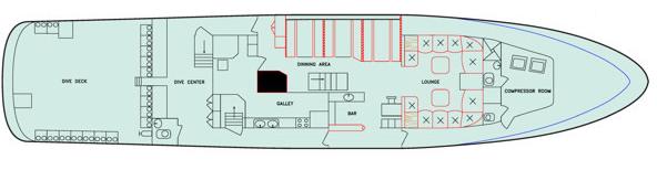 Main deck   Aggressor
