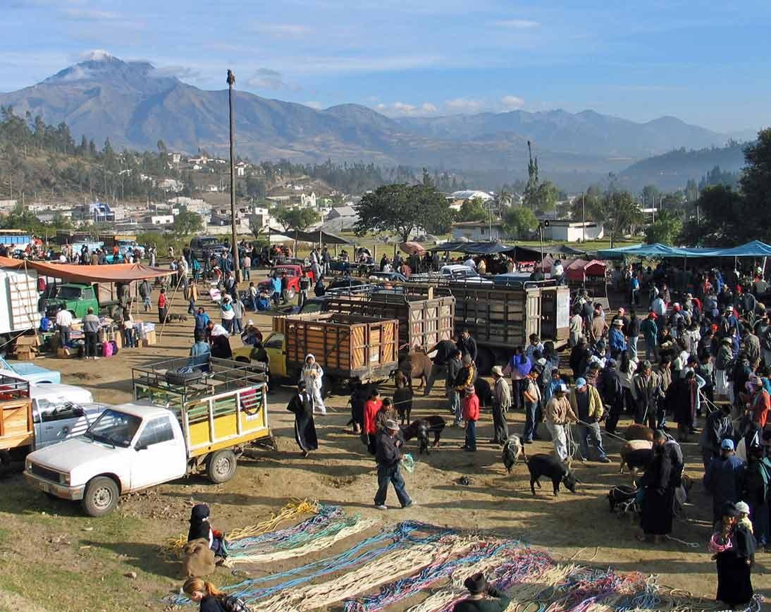 Otavalo Market   Ecuador