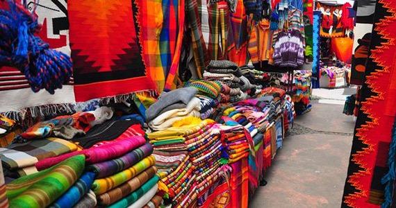 Otavalo Market Textiles | Ecuador