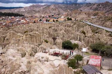 Moon valley   Bolivia