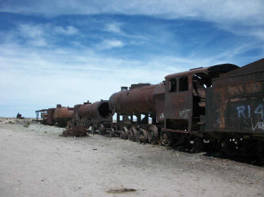 Train cemetery | Bolivia