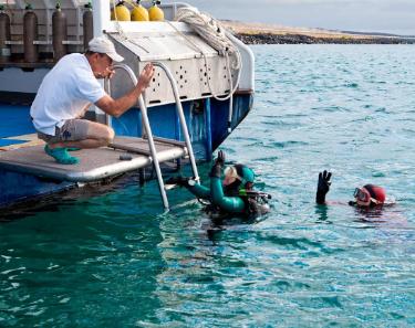 Aggressor Dive |  Galapagos Cruises