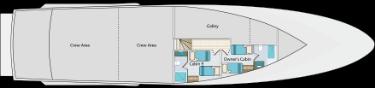 Lower deck | Calipso