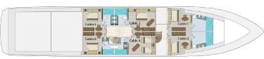 Lowe deck | M/Y Grand Majestic