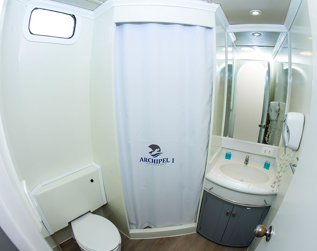 Bathroom   Archipel 1 Catamaran