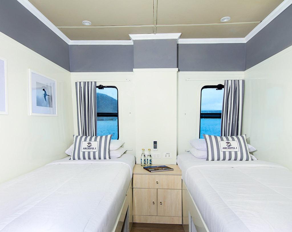 Twin Cabin   Archipel 1 Catamaran