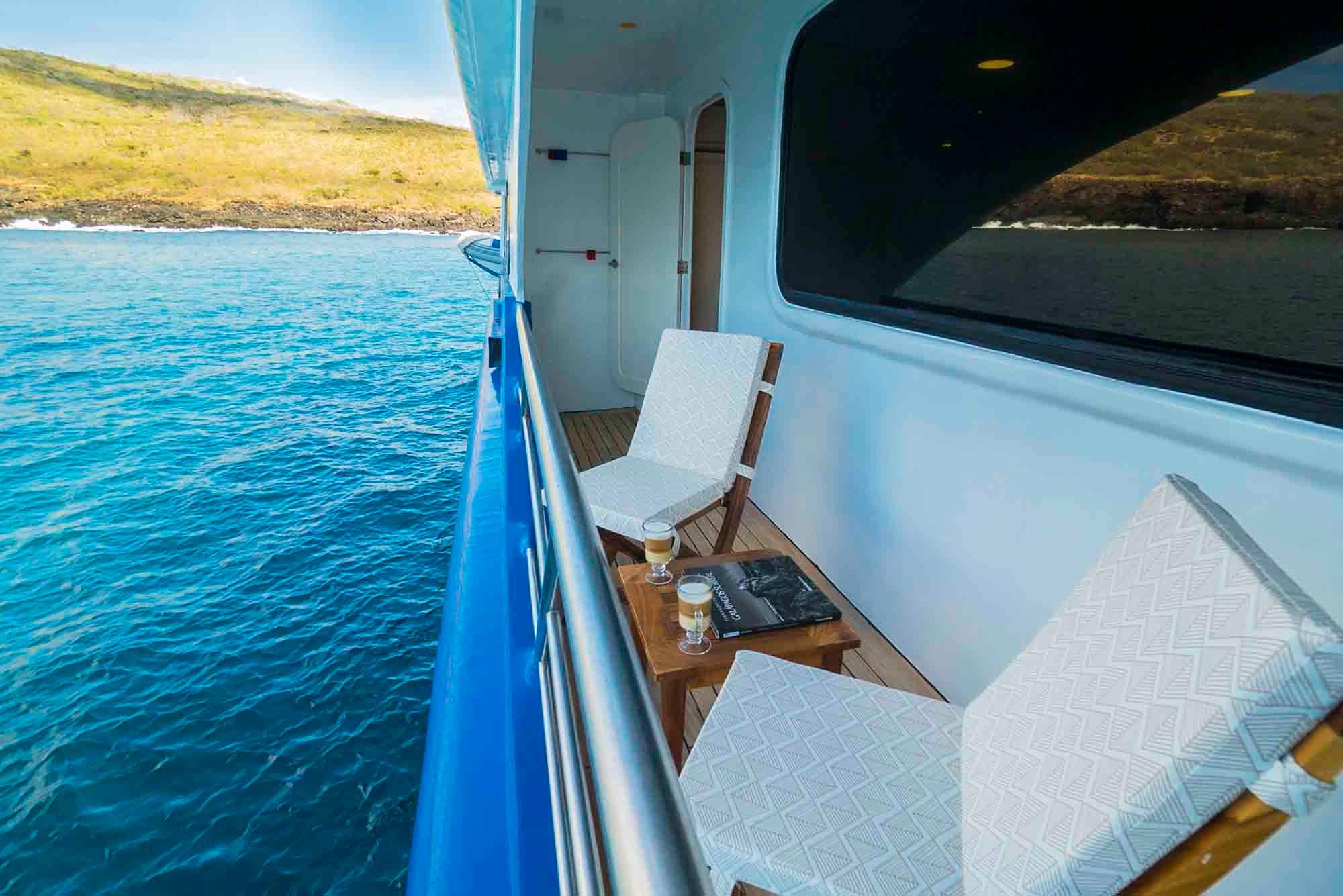 Balcony | Ocean Spray Galapagos Catamaran