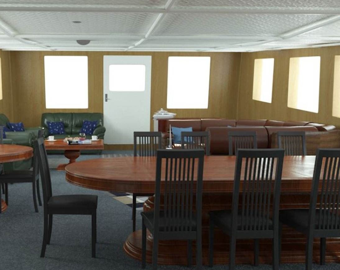 Dining area   Cachalote Explorer Yacht