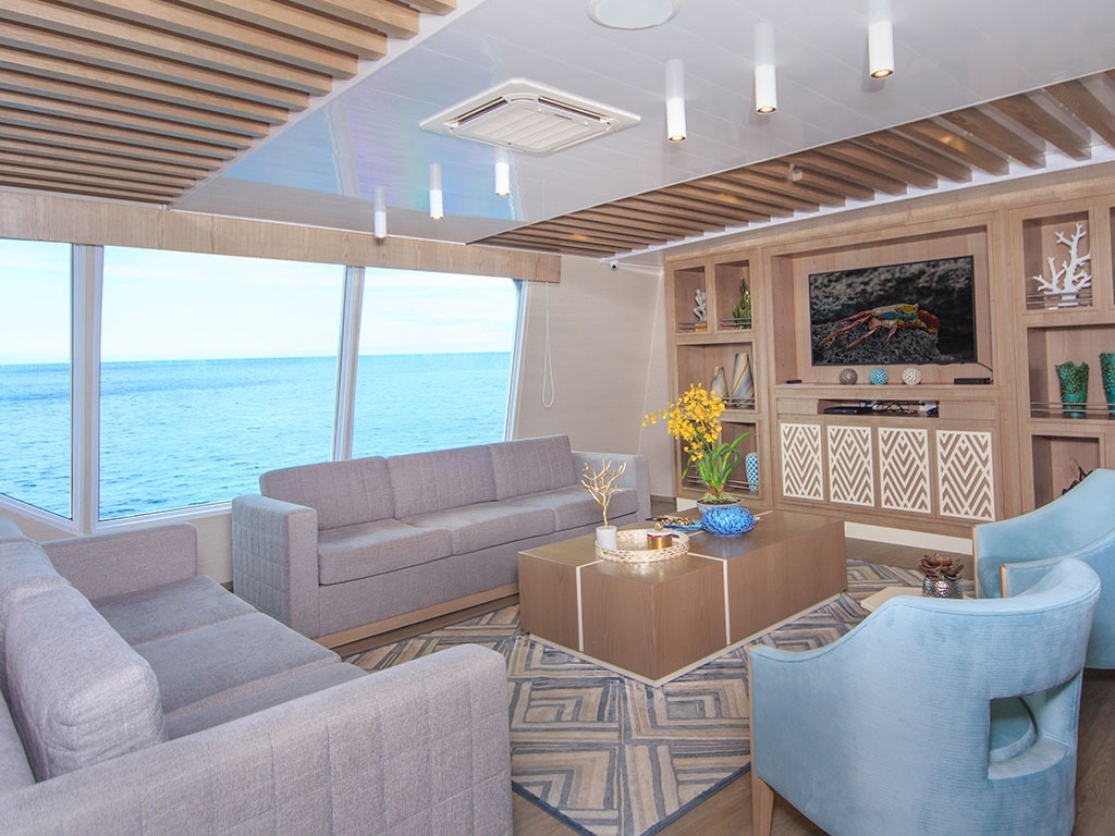 Living area   Endemic Catamaran