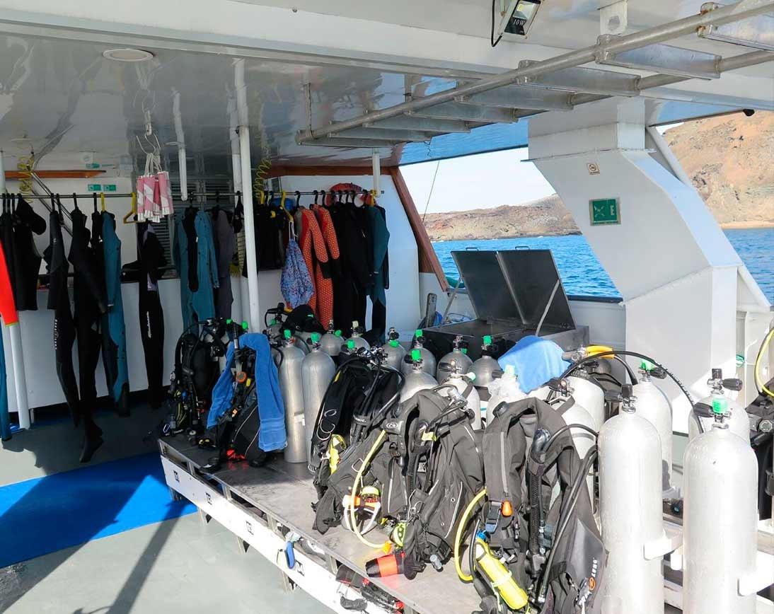 Diving area   Aggressor