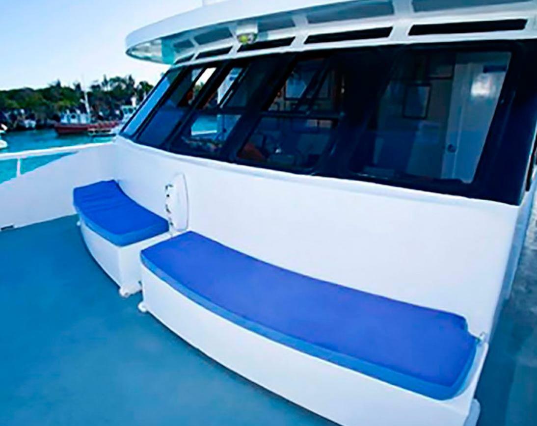 Sun deck   Aida Maria Yacht