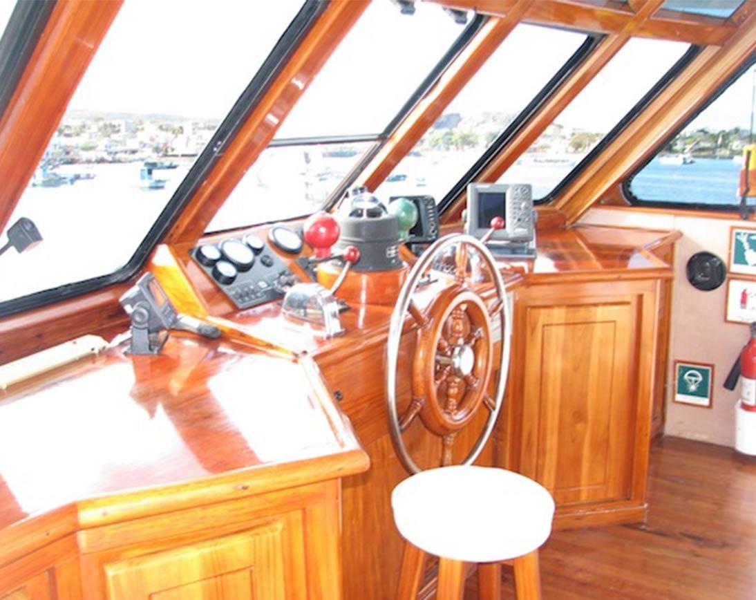 Captain cabin   Aida Maria Yacht