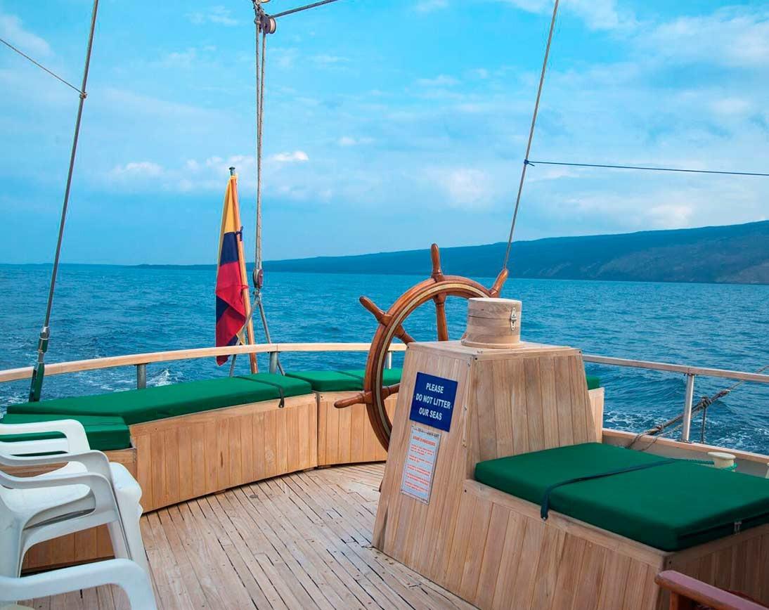 Sky deck | Beagle Sailboat