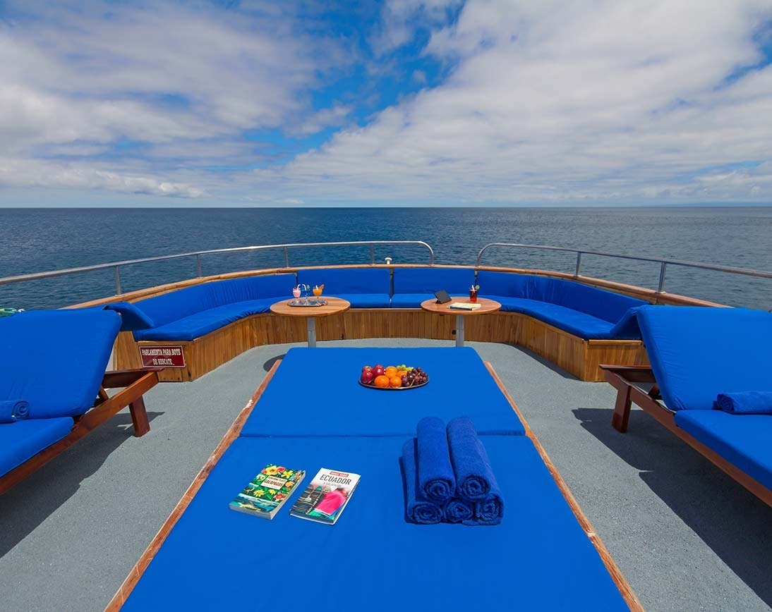 Sky deck   Beluga Yacht