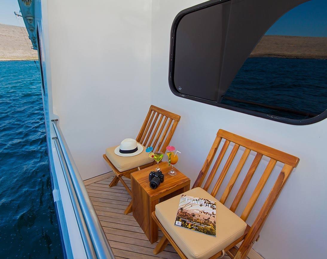 Balcony   Cormorant Catamaran