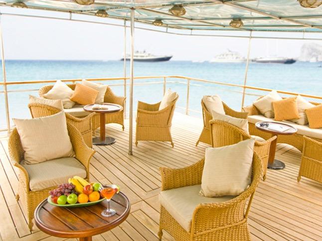Sky deck | Grace Yacht