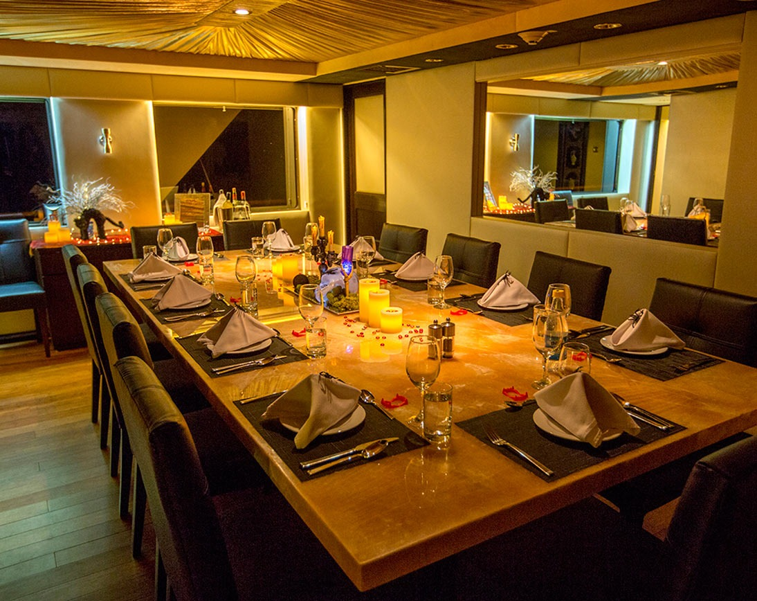 Dining area   Passion Yacht