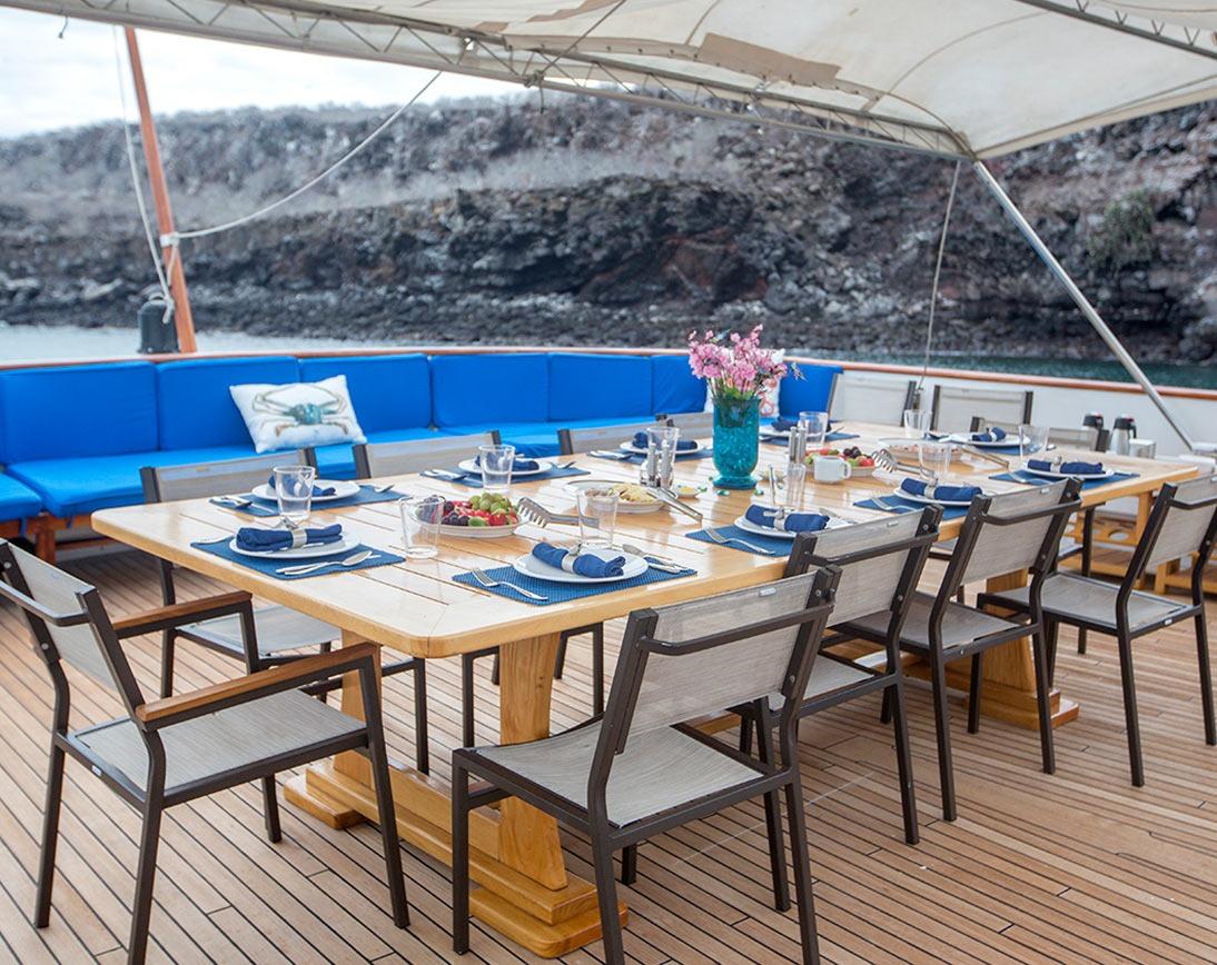Sky deck   Passion Yacht