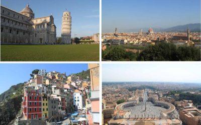 Interrail Italië; de route