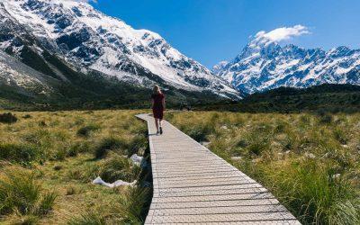 Hike de Hooker Valley Track in Nieuw-Zeeland!