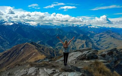 Hiken naar Ben Lomond in Nieuw-Zeeland