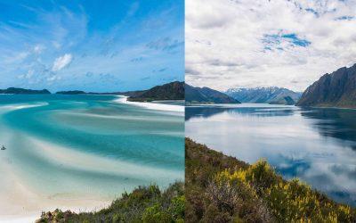 Australië of Nieuw-Zeeland, welk land moet je kiezen?