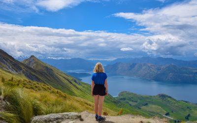 Hiken naar Roys Peak in Nieuw-Zeeland