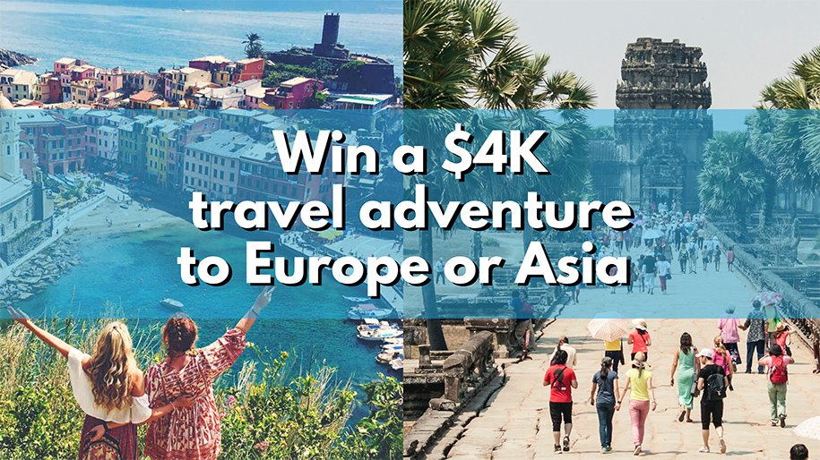 Europe or Asia Busabout Competition