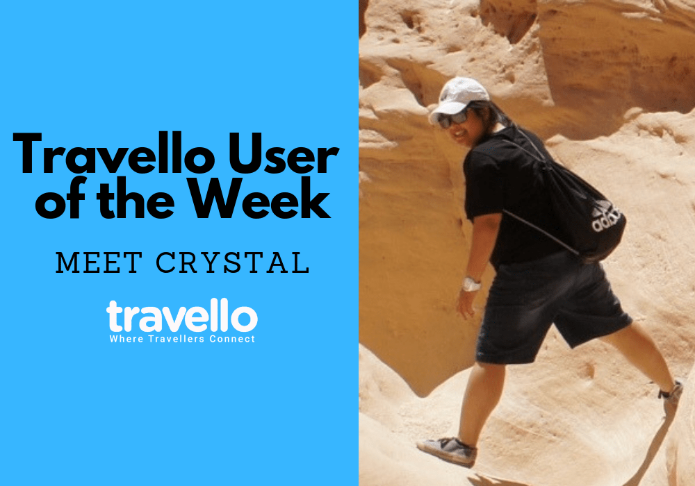 Travello User of the Week: Meet Crystal