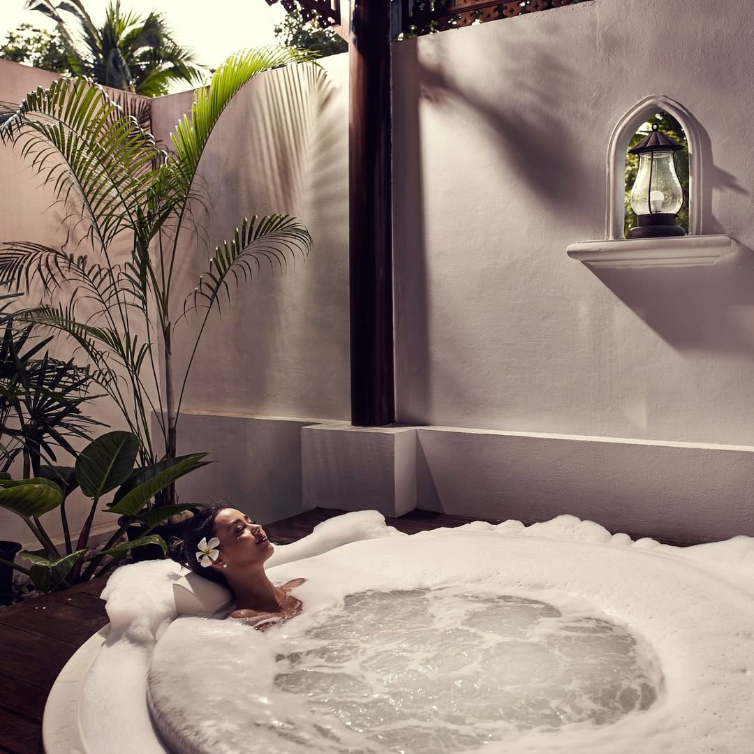 Pampering spa experience with L'OCCITANE.