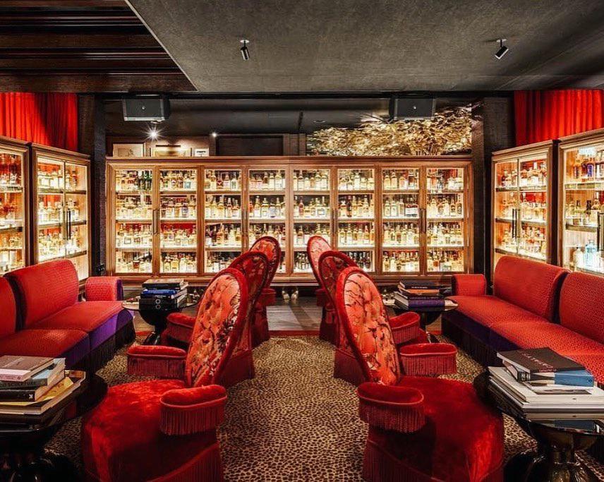 The Whisky Library in The Vagabond Club