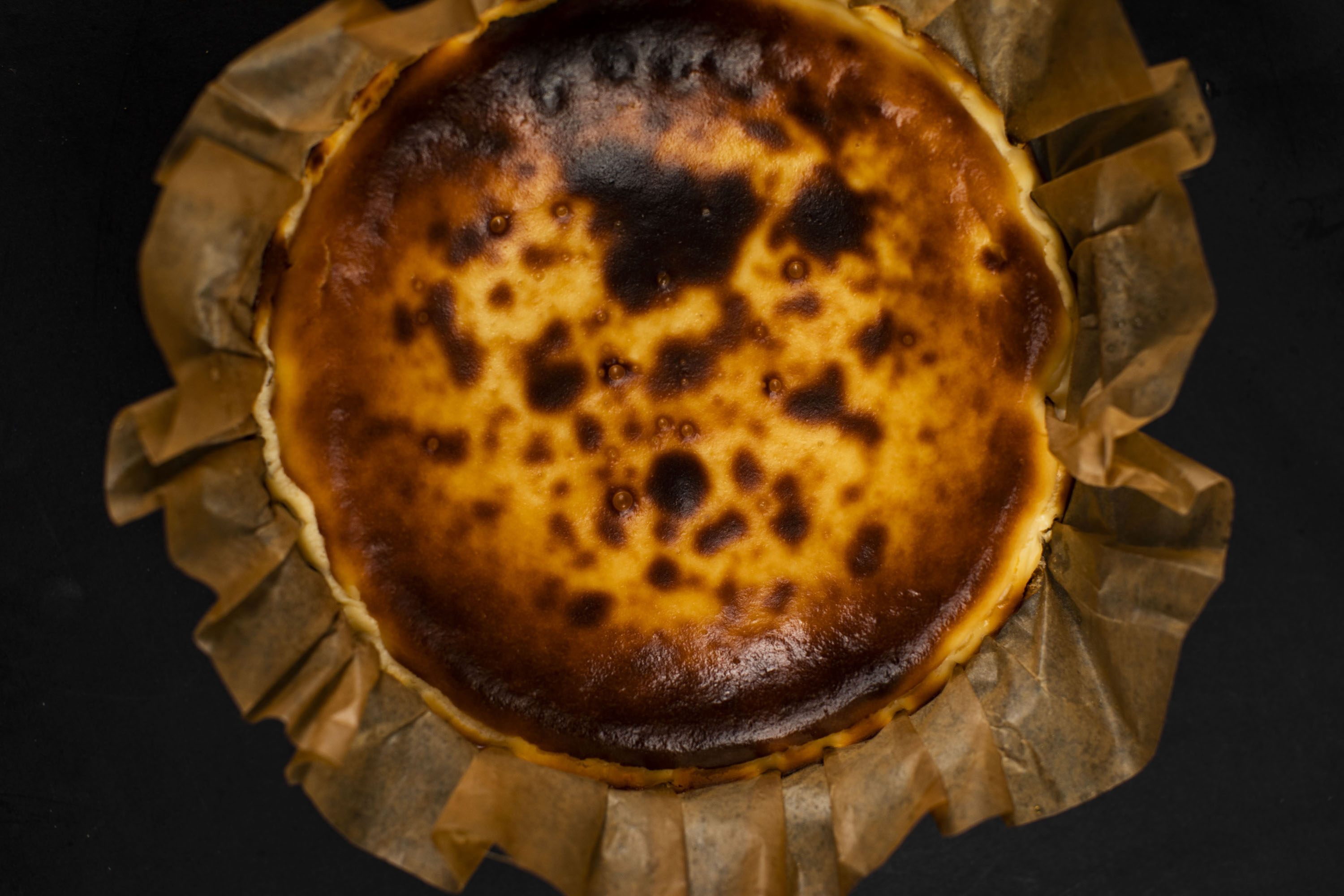 Paparch Burnt Cheesecake