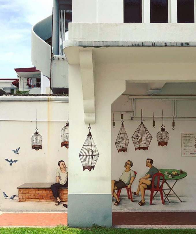 Follow the Art: Mural Hunting in Singapore