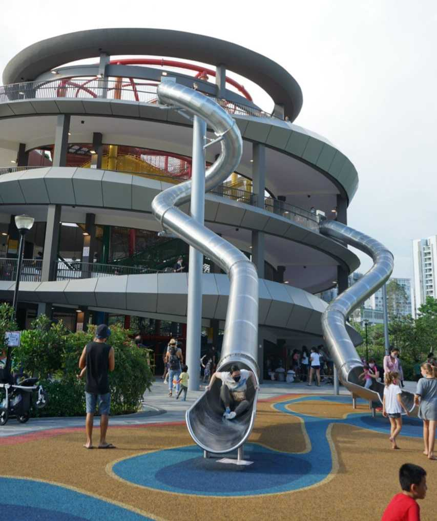 Coastal Playgrove: The Tallest Outdoor Playground in Singapore